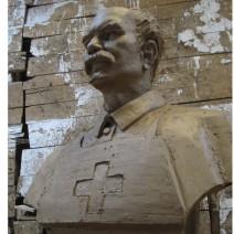 名人雕塑白求恩