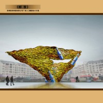 雪律啤酒文化主题雕塑设计