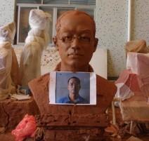 郭洪清铜像雕塑