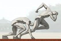 二沙岛体育公园主题雕塑