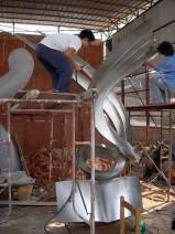 不锈钢雕塑002