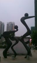 不锈钢雕塑005