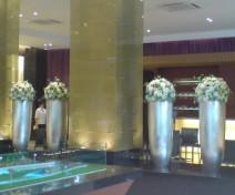 广州雕塑公司珠江公寓酒店雕塑工程案例